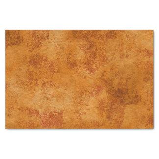 Orange Rustic Texture Tissue Paper