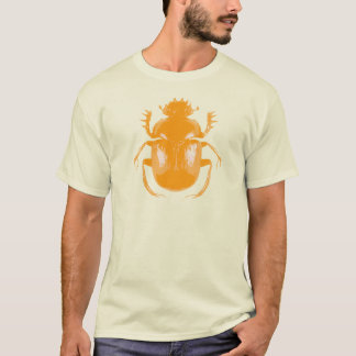 Orange Scarab Beetle T-shirt