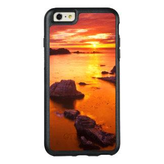 Orange seascape, sunset, California OtterBox iPhone 6/6s Plus Case