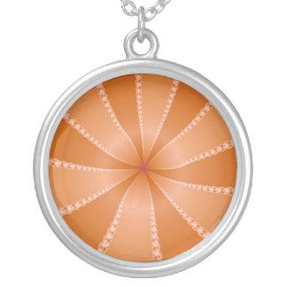 Orange Segments Necklace