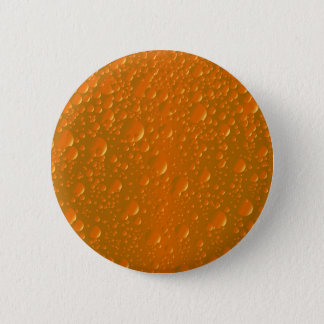 Orange Shade Bibble Background 6 Cm Round Badge