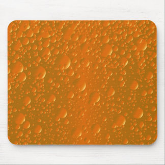 Orange Shade Bibble Background Mouse Pad