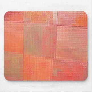 orange sherbert 3 mouse pad