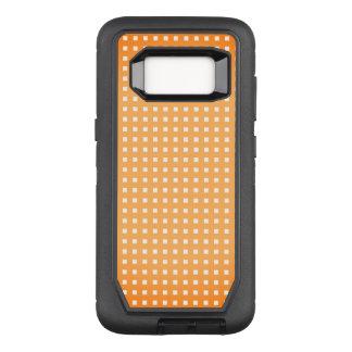 Orange-Sherbet-Checks_Unisex-Apple_Samsung OtterBox Defender Samsung Galaxy S8 Case