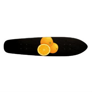 Orange Skateboard Oldschool