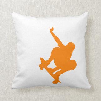Orange Skater; Skateboard Cushion