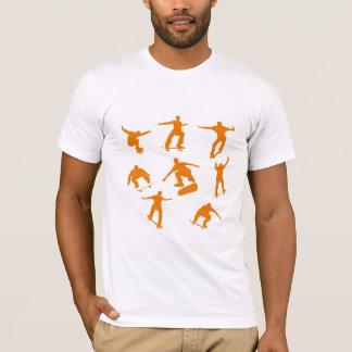 Orange Skaters T-Shirt