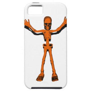 Orange Skeleton iPhone 5 Cover