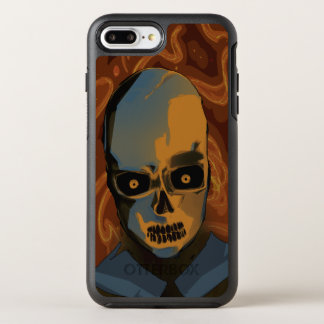 Orange Skull OtterBox Symmetry iPhone 8 Plus/7 Plus Case
