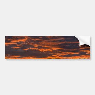 Orange Sky Bumper Sticker