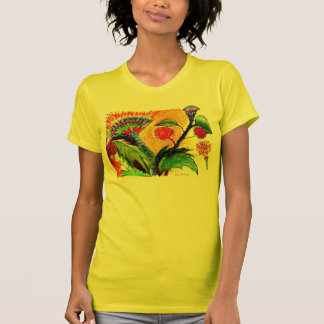 Orange Sky Shirt Front Design