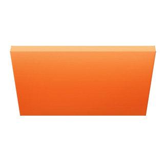 Orange Sky Stretched Canvas Print
