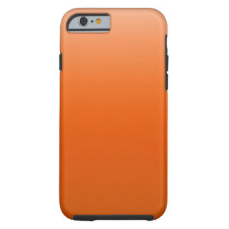 Orange Sky Tough iPhone 6 Case
