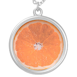 Orange Slice Pendant