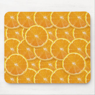 Orange Slices Mouse Pad