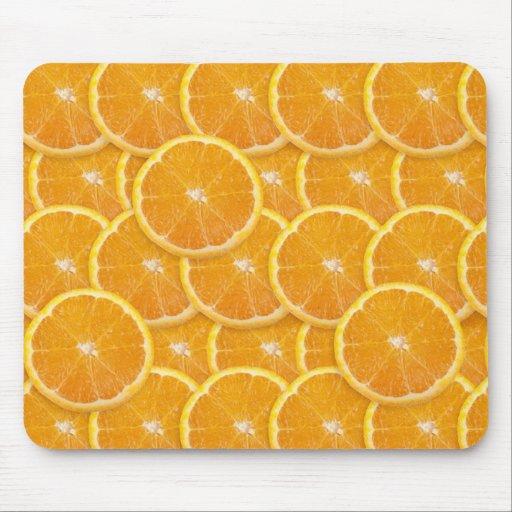 Orange Slices Mousepads