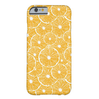 Orange slices pattern design barely there iPhone 6 case