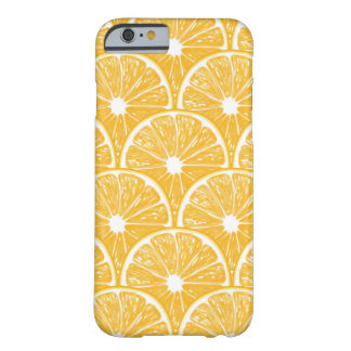 Orange slices, tropical fruit pattern design barely there iPhone 6 case