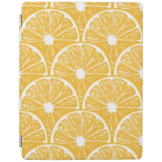 Orange slices, tropical fruit pattern design iPad cover