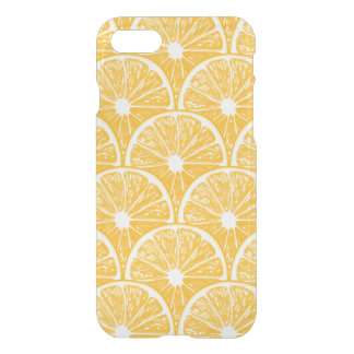 Orange slices, tropical fruit pattern design iPhone 7 case