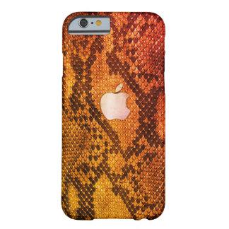 Orange Snake skin style case