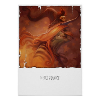 Orange Sodawitch Canvas Print