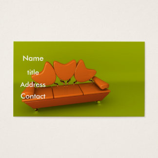 Orange Sofa Business Card