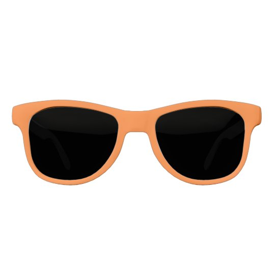 Orange Solid Colour Sunglasses