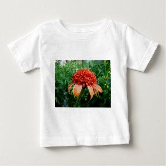 Orange Southern Belle Coneflower Baby T-Shirt