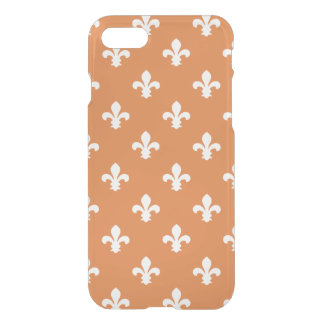 Orange Southern Cottage Fleur de Lys iPhone 8/7 Case