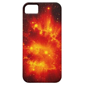 Orange space sky iPhone 5 cases
