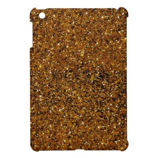 Orange Sparkles iPad Mini Covers