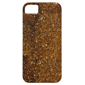 Orange Sparkles iPhone 5 Cases