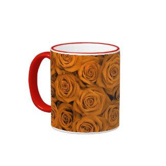 Orange Spectacular Roses Mug