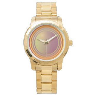 Orange Spirals Watch