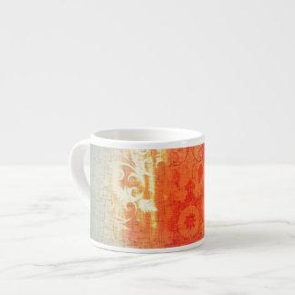 Orange Splash Expresso Cup Beautiful Quirky Unique