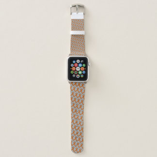 Orange Standard Ribbon by Kenneth Yoncich Apple Watch Band