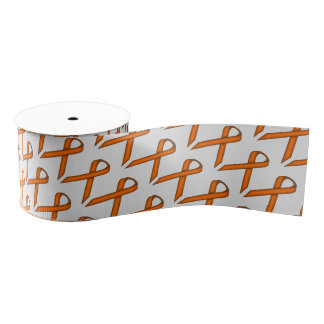 Orange Standard Ribbon Grosgrain Ribbon