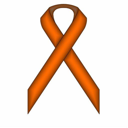 Orange Standard Ribbon Cut Outs