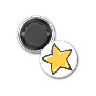 Orange Star Magnet