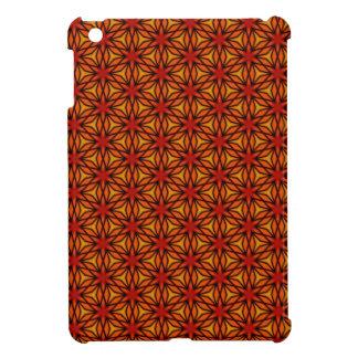 Orange Star Pattern Cover For The iPad Mini