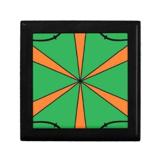 orange starbursts gift box
