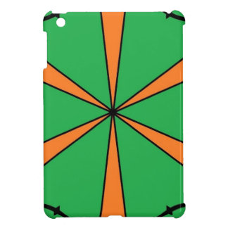 orange starbursts iPad mini cases