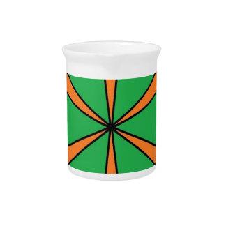 orange starbursts pitcher