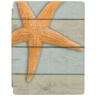 Orange Starfish iPad Cover