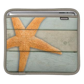 Orange Starfish iPad Sleeve