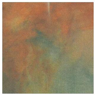 Orange Starlit Sky Fabric