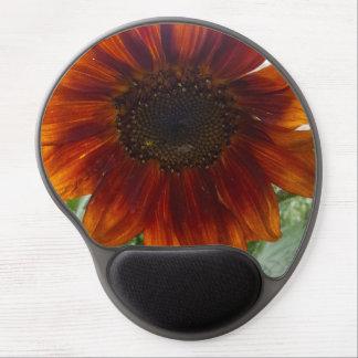 Orange Sunflower Gel Mousepad