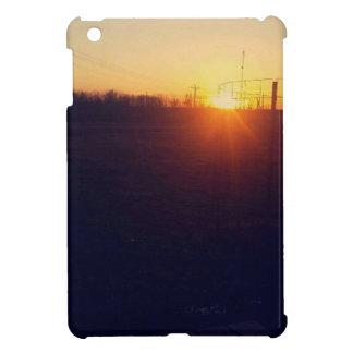 Orange Sunset Case For The iPad Mini
