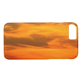 Orange Sunset Clouds Photograph 1 iPhone 8/7 Case